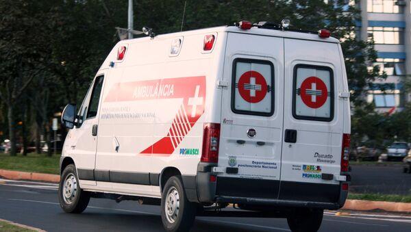 Ambulancia brasileña - Sputnik Mundo