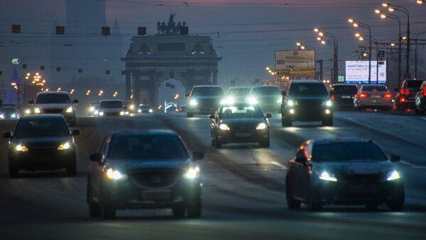 Automóviles en Moscú - Sputnik Mundo