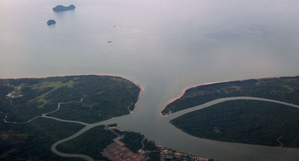 Mar de la China Meridional (archivo)