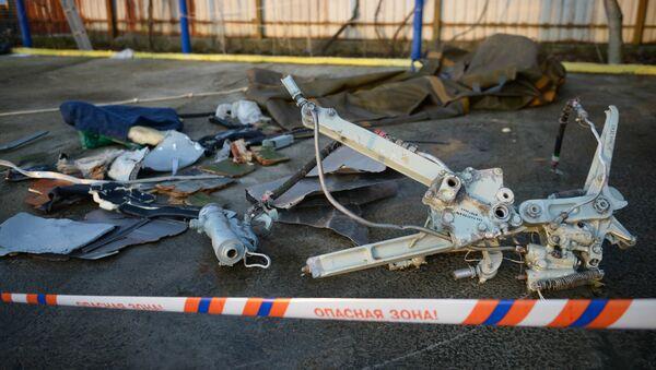 Los fragmentos de Tu-154 - Sputnik Mundo