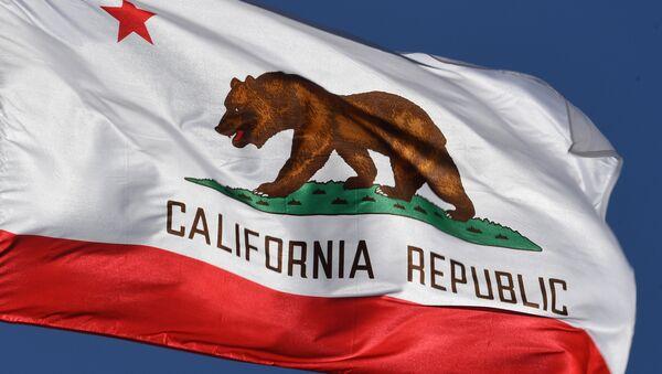 La bandera del estado de California - Sputnik Mundo