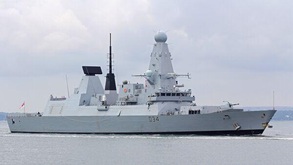 HMS Diamond - Sputnik Mundo