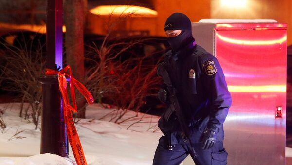 La policía de Canadá - Sputnik Mundo