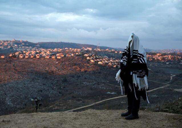 Un asentamiento judío (archivo)