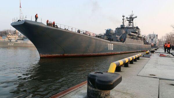 El esperado retorno de la nave Alexandr Shabalin a Baltisk - Sputnik Mundo