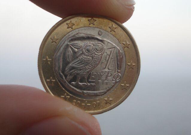 Un euro griego