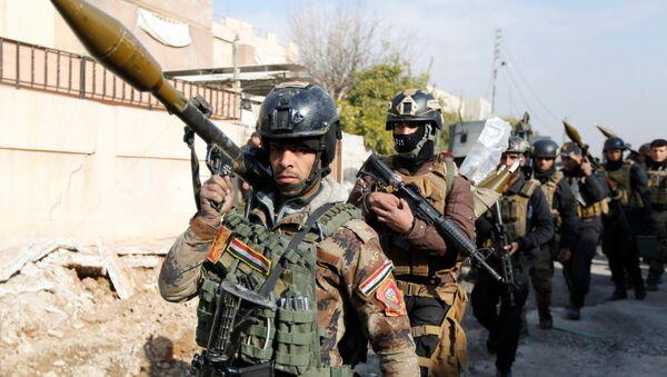 Soldados de Irak (archivo) - Sputnik Mundo