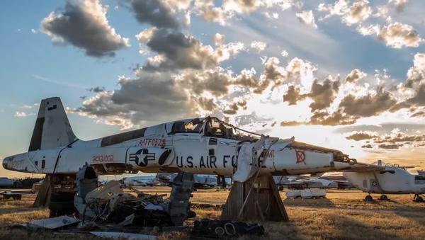 El mayor 'cementerio' de aviones militares - Sputnik Mundo