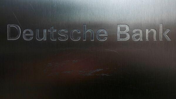 Logo de Deutsche Bank - Sputnik Mundo