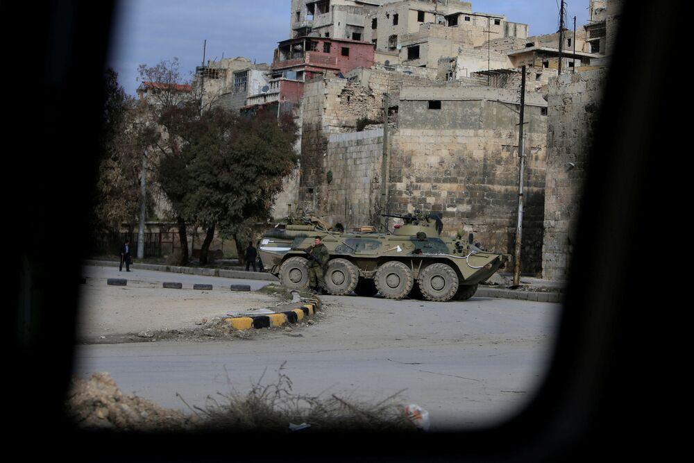 El día a día en un Alepo en paz