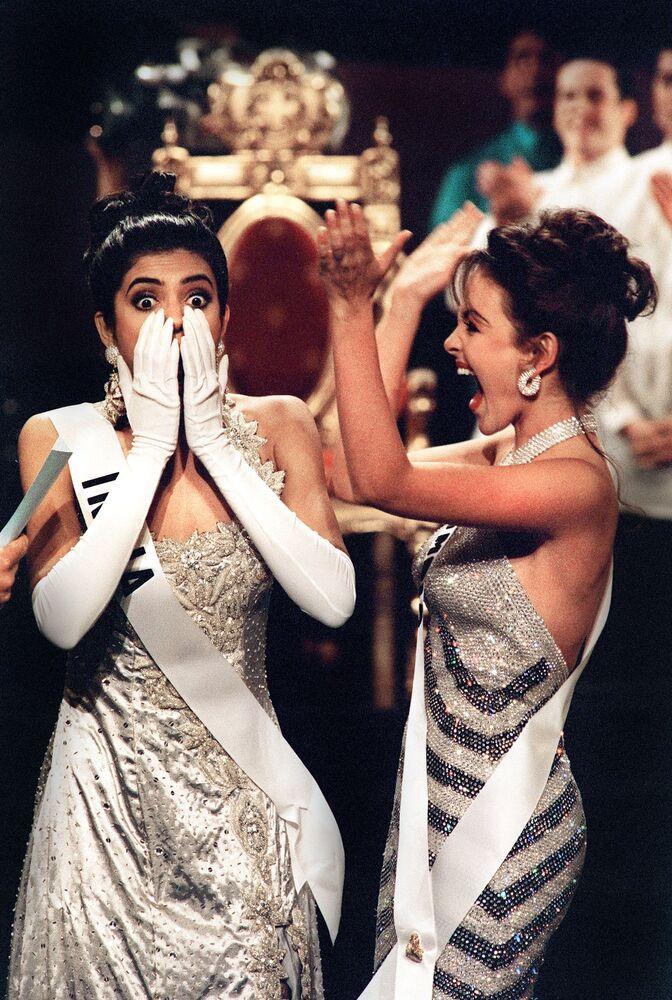 Sushmita Sen, de India, Miss Universo 1994