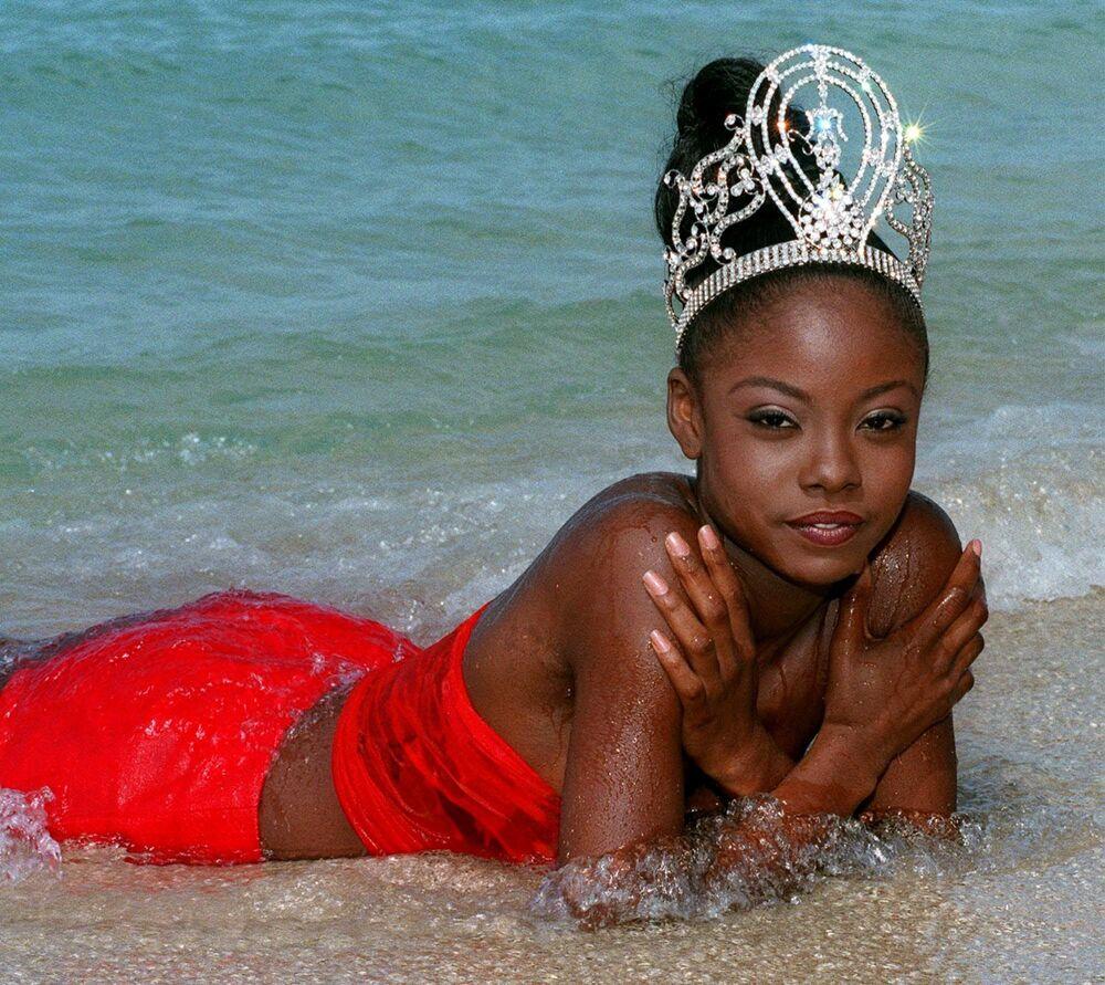 Wendy Fitzwilliam, de Trinidad y Tobago, Miss Universo 1998