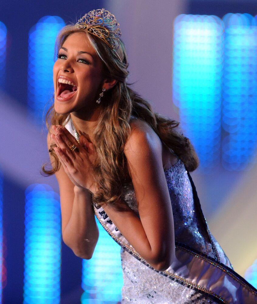 Dayana Mendoza, de Venezuela, Miss Universo 2008
