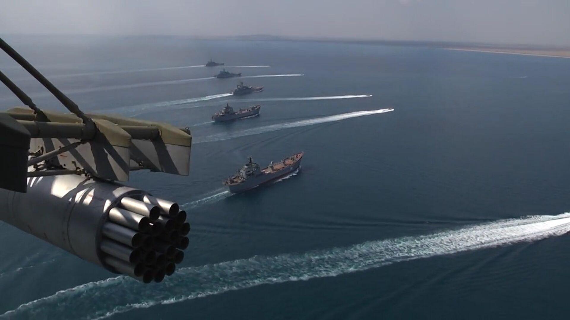 Los buques de la Flota rusa en el Mar Negro (imagen referencial) - Sputnik Mundo, 1920, 20.04.2021