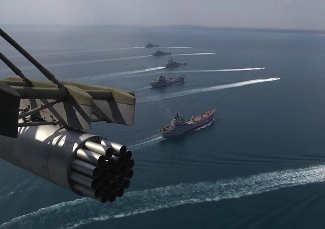 Buques de la Flota rusa del Mar Negro y de la Flotilla del Caspio (archivo)