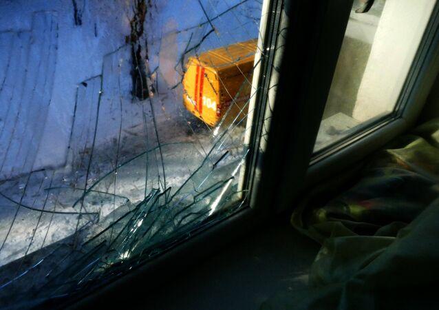 Consecuencias de los tiroteos en Donbás (archivo)