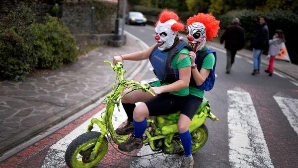Carnaval demoníaco en el País Vasco - Sputnik Mundo