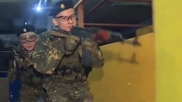Las maniobras de cadetes rusos - Sputnik Mundo
