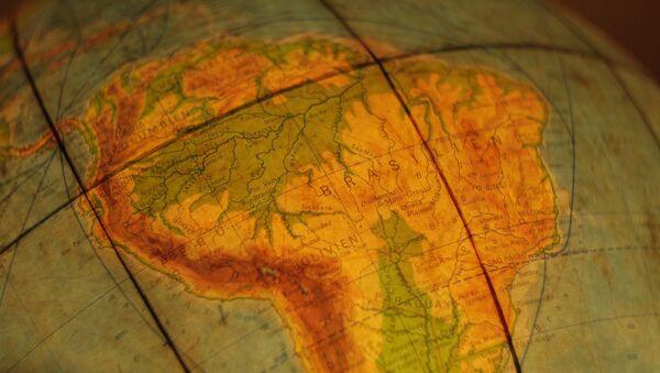 El mapa de América del Sur - Sputnik Mundo