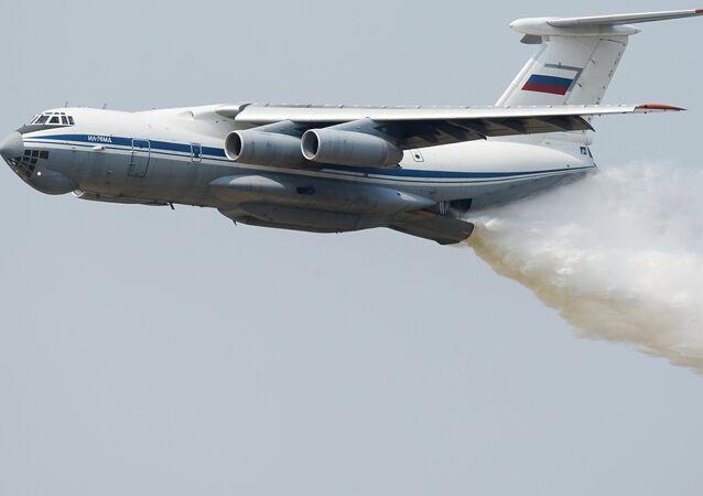 Un avión Il-76 (archivo)