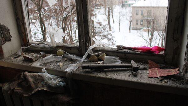 Ситуация после обстрелов в Донецке - Sputnik Mundo