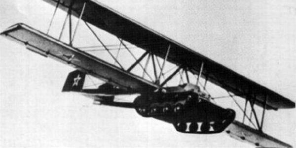 A-40 KT: el tanque volador de la URSS - Sputnik Mundo