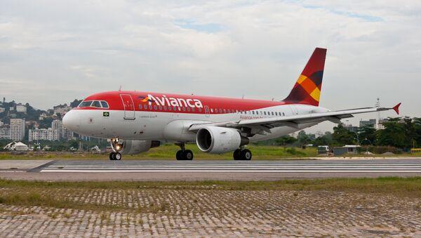 Avión de la empresa colombiana Avianca - Sputnik Mundo
