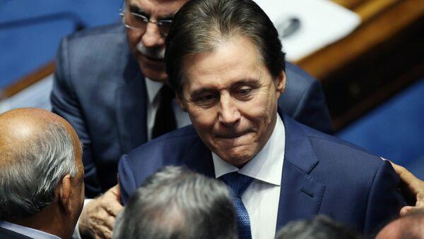 Eunício Oliveira, nuevo presidente del Senado brasileño - Sputnik Mundo