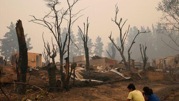 Las consecuencias de los incendios forestales en Chile - Sputnik Mundo
