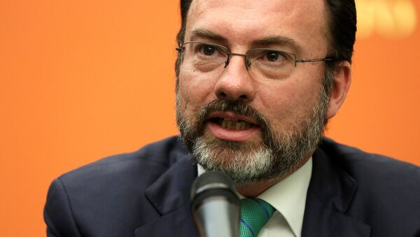 Luis Videgaray - Sputnik Mundo