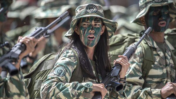 Soldados venezolanos (archivo) - Sputnik Mundo