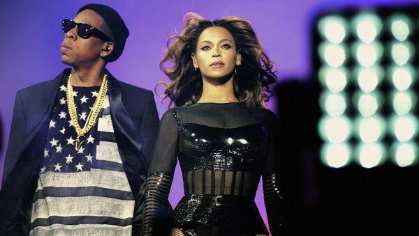 Beyonce y su marido Jay Z (Archivo) - Sputnik Mundo