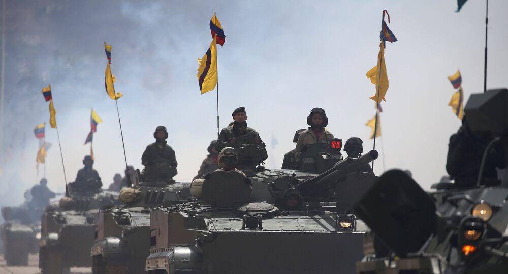Militares de las FFAA de Venezuela (archivo)