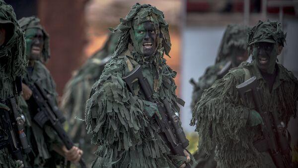 Militares venezolanos (Archivo) - Sputnik Mundo