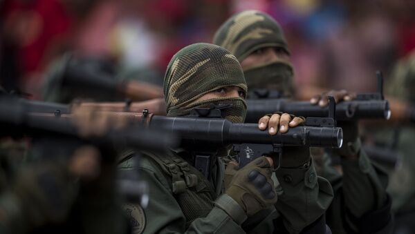 Soldados venezolanos - Sputnik Mundo