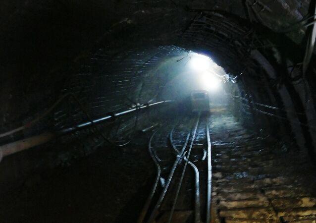 Una mina (Archivo)