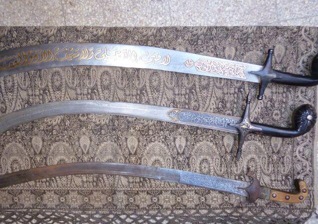 Espadas de Damasco