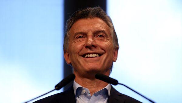 Mauricio Macri, el presidente de Argentina - Sputnik Mundo