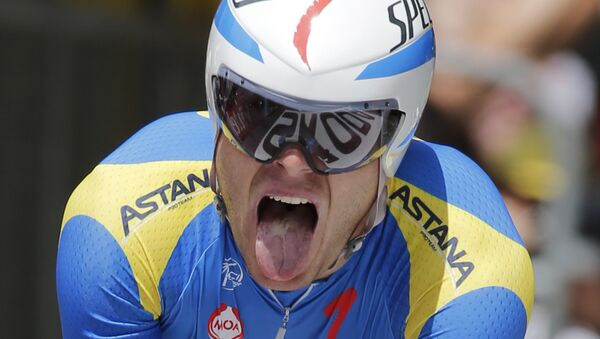 Andréi Grivko, ciclista ucraniano - Sputnik Mundo