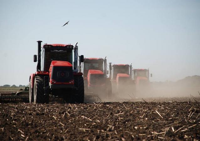 Los tractores Kírovets