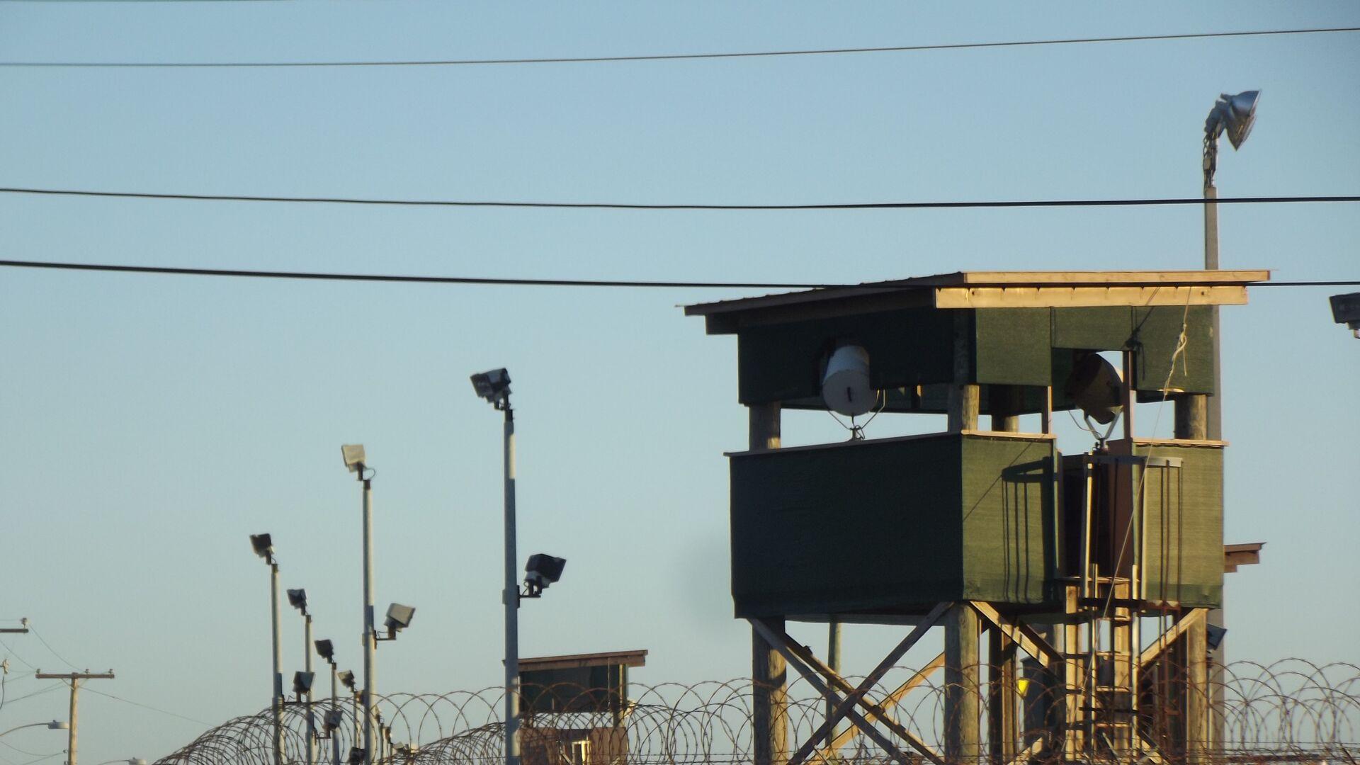Una de las torres de vigilancia del Campo 6 de Guantánamo - Sputnik Mundo, 1920, 23.02.2021