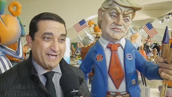 Donald Trump protagoniza la exposición del 'Ninot' en España - Sputnik Mundo