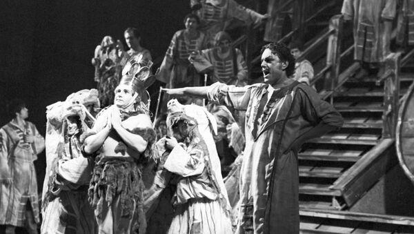 Ópera Pedro el Grande en el Teatro de ópera y ballet de Leningrado (actualmente, Teatro Mariínski) - Sputnik Mundo