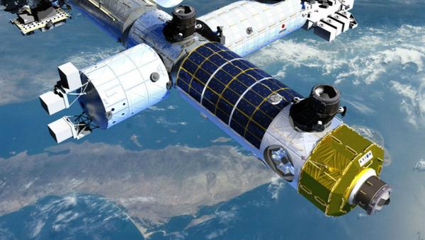 El proyecto de la primera estación espacial privada - Sputnik Mundo