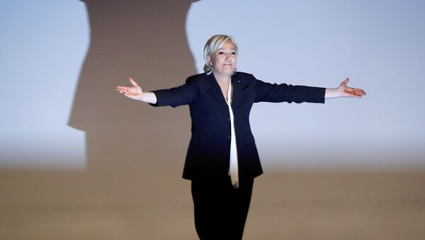 Marine Le Pen, cadidata a la presidencia francesa (archivo) - Sputnik Mundo