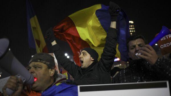Protestas en Rumanía - Sputnik Mundo