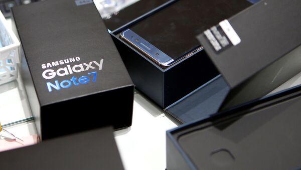 Samsung Galaxy Note 7 - Sputnik Mundo