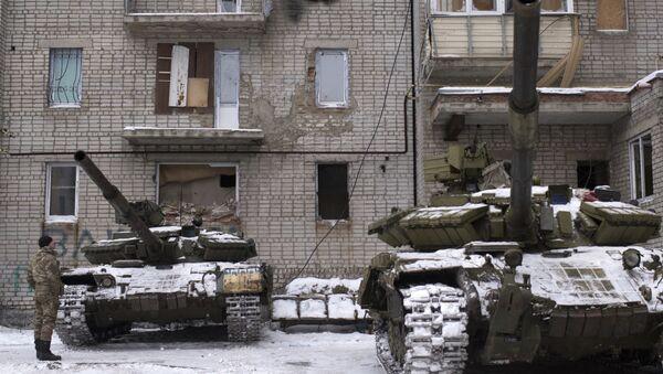 Las fuerzas ucranianas en Avdéevka - Sputnik Mundo