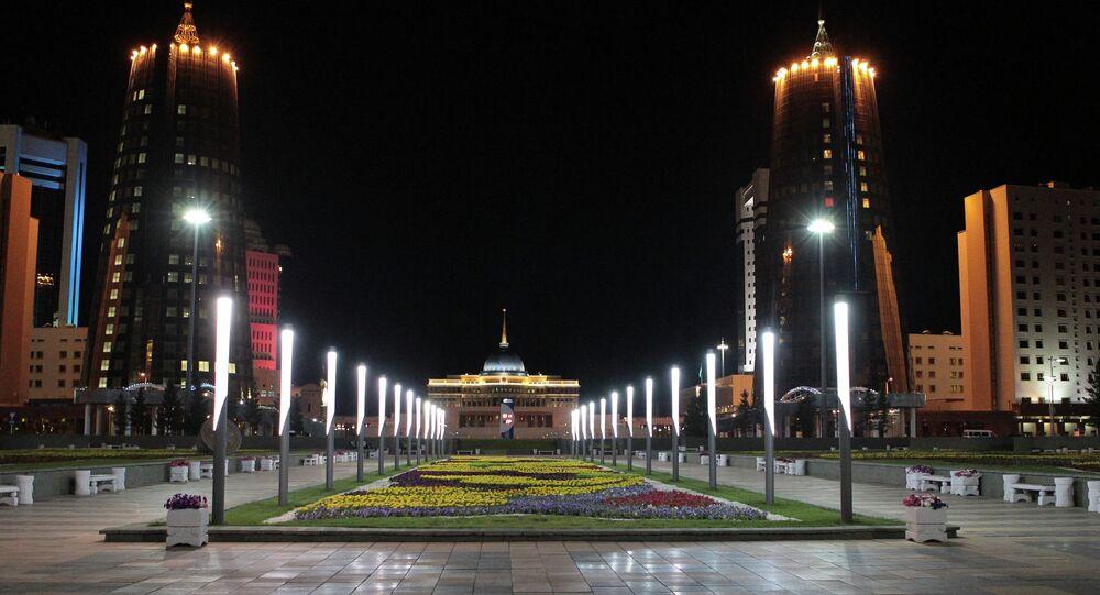 Astaná, capital de Kazajistán