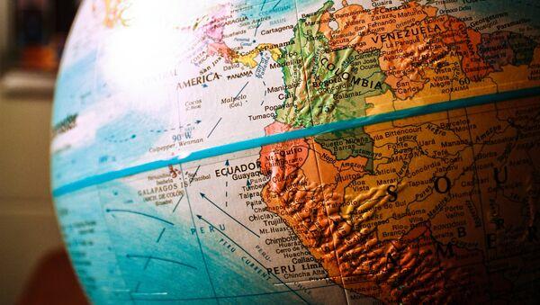 Mapa de América del Sur (imagen referencial) - Sputnik Mundo